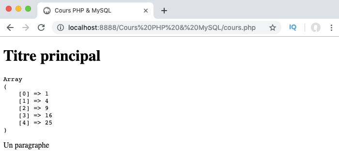 Exemple d'utilisation de fonction anonyme comme fonction de rappel en PHP