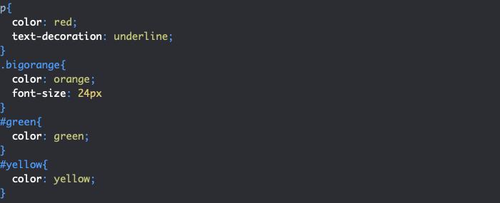 Création d'un conflit de styles en CSS