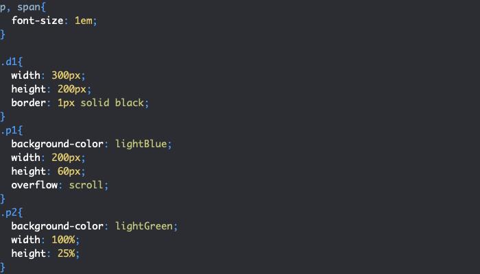 Problème de dépassement avec width avec contenu qui sort des bordures