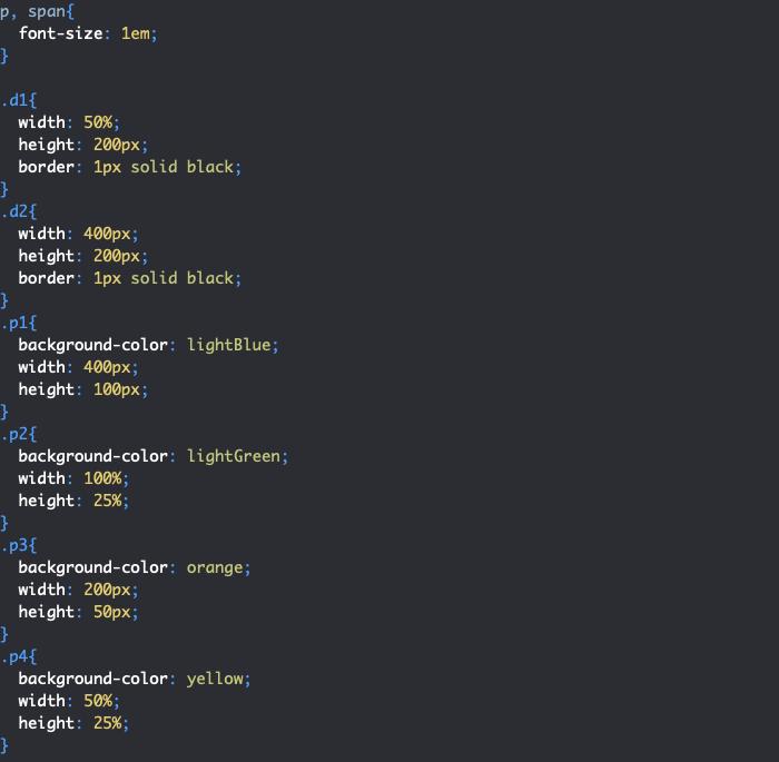 Création de problèmes de dépassement des éléments avec width en CSS avec élément parent