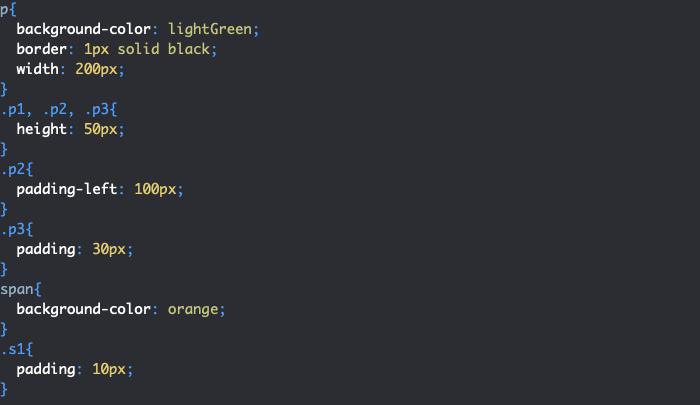 Impact padding CSS sur autres éléments