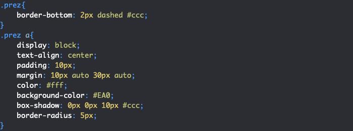 On ajoute des styles à la section présentation de notre CV HTML et CSS