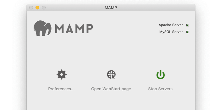 Installation et démarrage de MAMP WAMP LAMPP