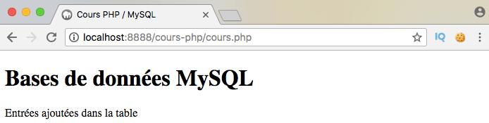 Utilisation de begintransaction et de commit avec PDO en PHP pour initier une transaction
