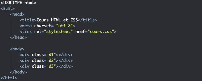 Support HTML pour utilisation de la propriété CSS animation