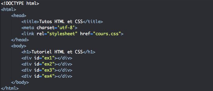 Support HTML pour l'utilisation de la propriété CSS background-position