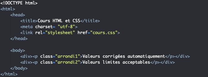 Support HTML illustration du comportement de border-radius en cas de valeurs aberrantes