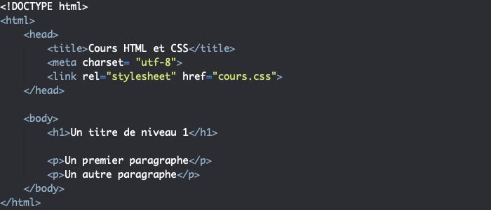 Support HTML pour illustrer le fonctionnement de font-family en CSS