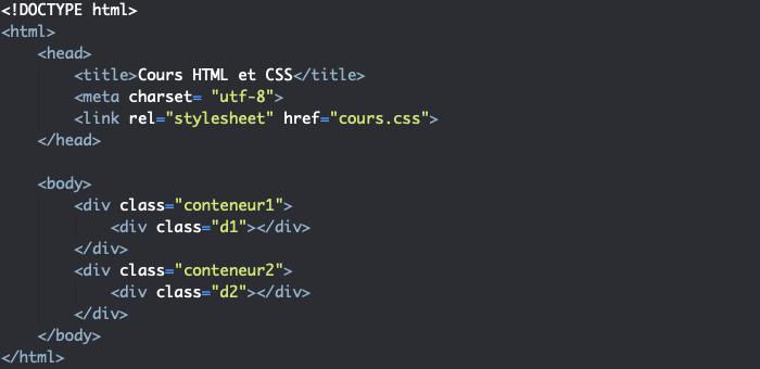 Support HTML création d'un diaporama HTML CSS avec effet de défilement