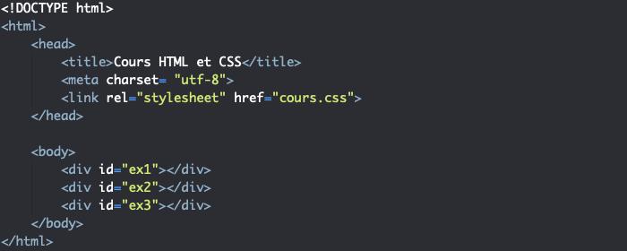 Support HTML pour création de dégradé linéaire en CSS avec linear-gradient