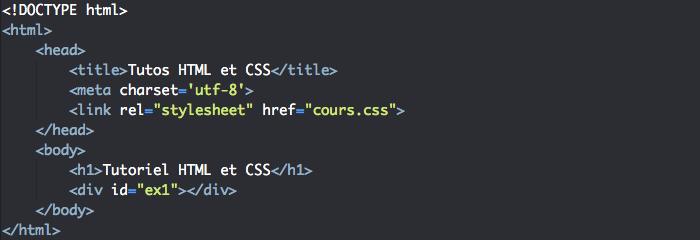On veut ajouter différentes images de fond à nos différents éléments HTML