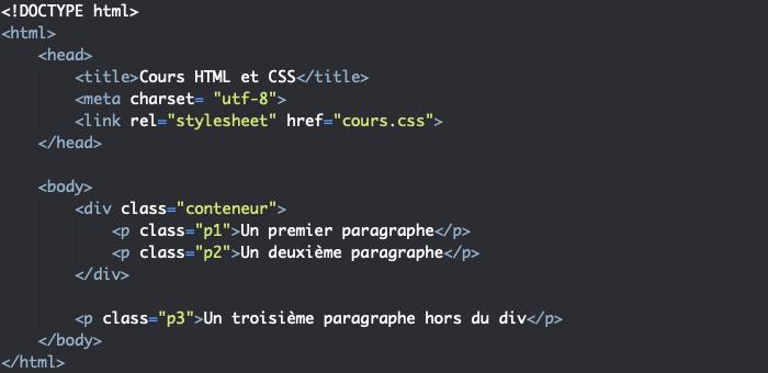 Support HTML pour utilisation des pseudo éléments CSS before et after