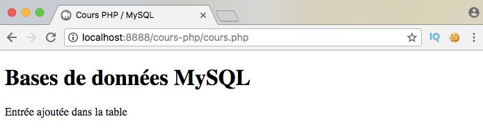 Si on ne sécurise pas ses requêtes, on risque des injections SQL