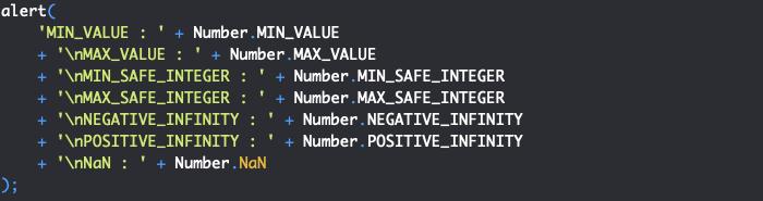 Présentation des propriétés de l'objet JavaScript Number