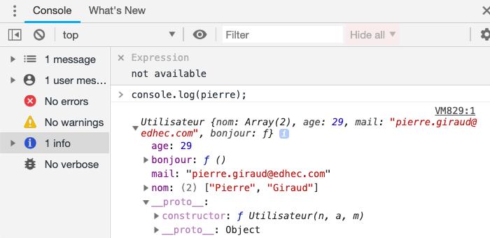 Le proto d'un objet JavaScript
