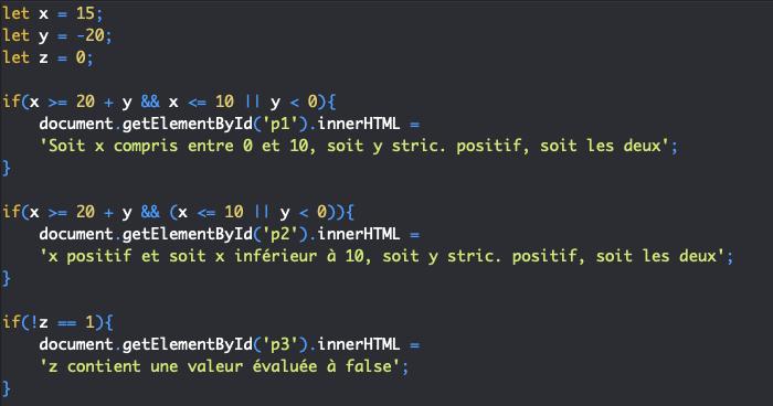 La précédence ou ordre et les règles d'associativité des opérateurs en JavaScript