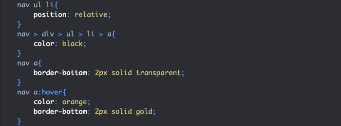 On applique les styles aux éléments du menu responsive HTML et CSS