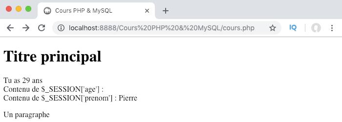 On détruit une session en PHP avec destroy et unset