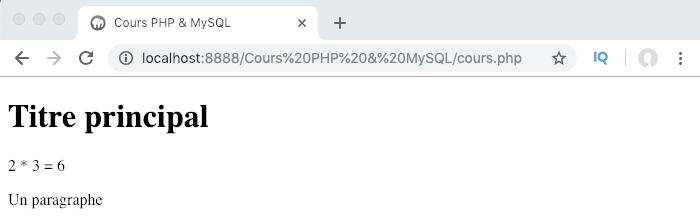 Exemple d'utilisation de l'instruction return vs echo dans une fonction PHP