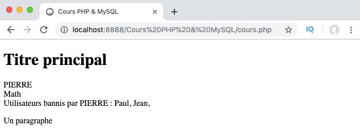 On surcharge le constructeur de la classe mère dans la classe fille en PHP