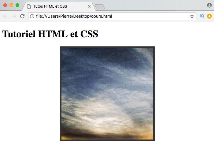 On affiche une image de fond ou une couleur en cas de problème à notre élément HTML