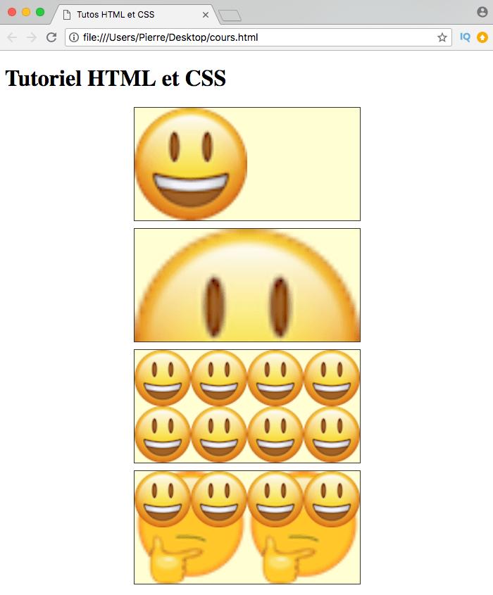 Les valeurs cover et contain de background-size