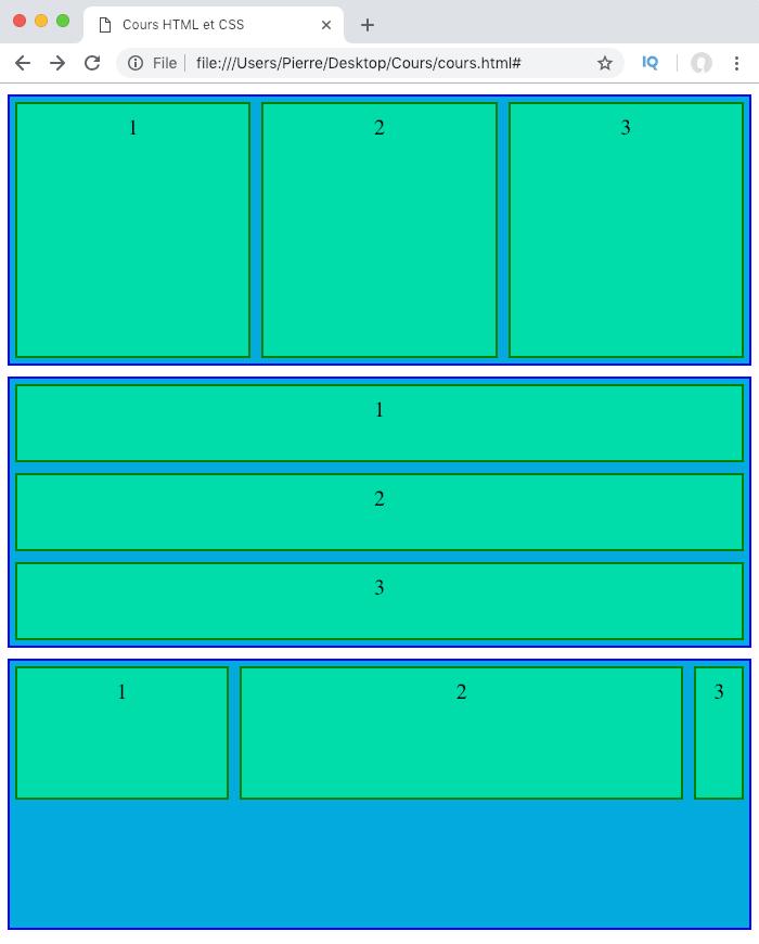 On gère la capacité des éléments flexibles à rétrécir dans un conteneur flex avec la propriété CSS flex-shrink