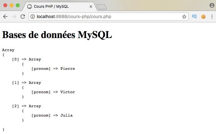 On sélectionne des données distinctes dans une table mysql en pdo php et on les ordonne avec select distinct from