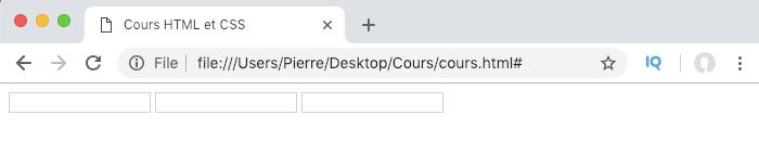 Illustration résultat exemple de création d'un formulaire HTML