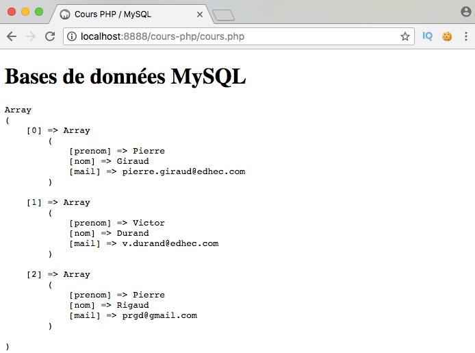Présentation et exemple d'utilisation de l'opérateur SQL in