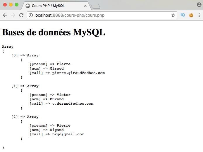 Présentation et exemple d'utilisation de l'opérateur SQL like