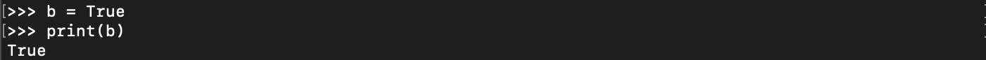 Le type de valeur booléen en Python