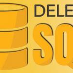 Suppression de données dans une base de données avec SQL DELETE