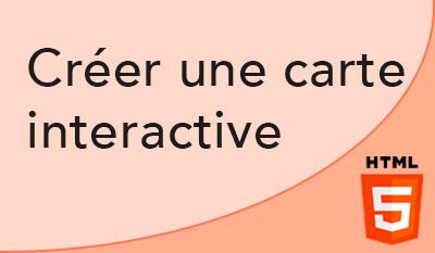 Création d'une carte cliquable ou interactive en HTML