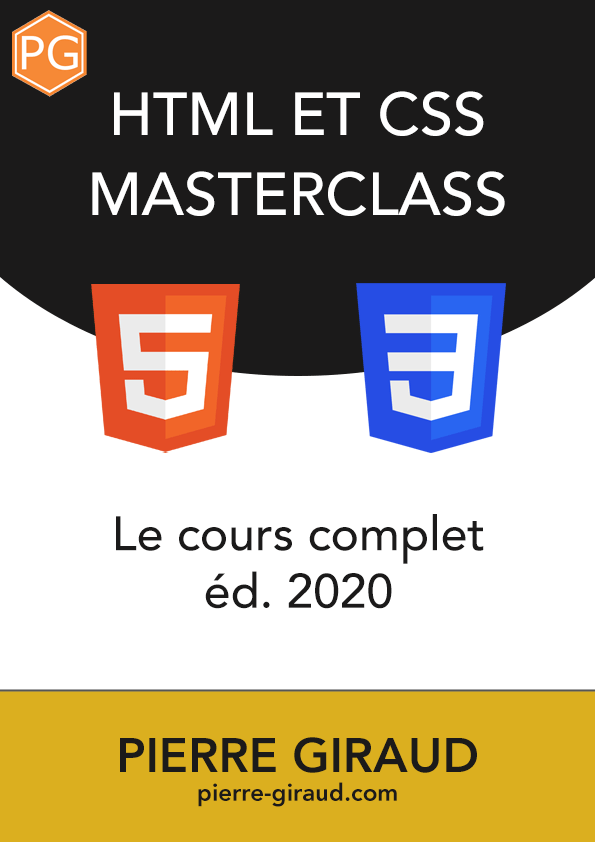 Livret PDF du cours HTML et CSS