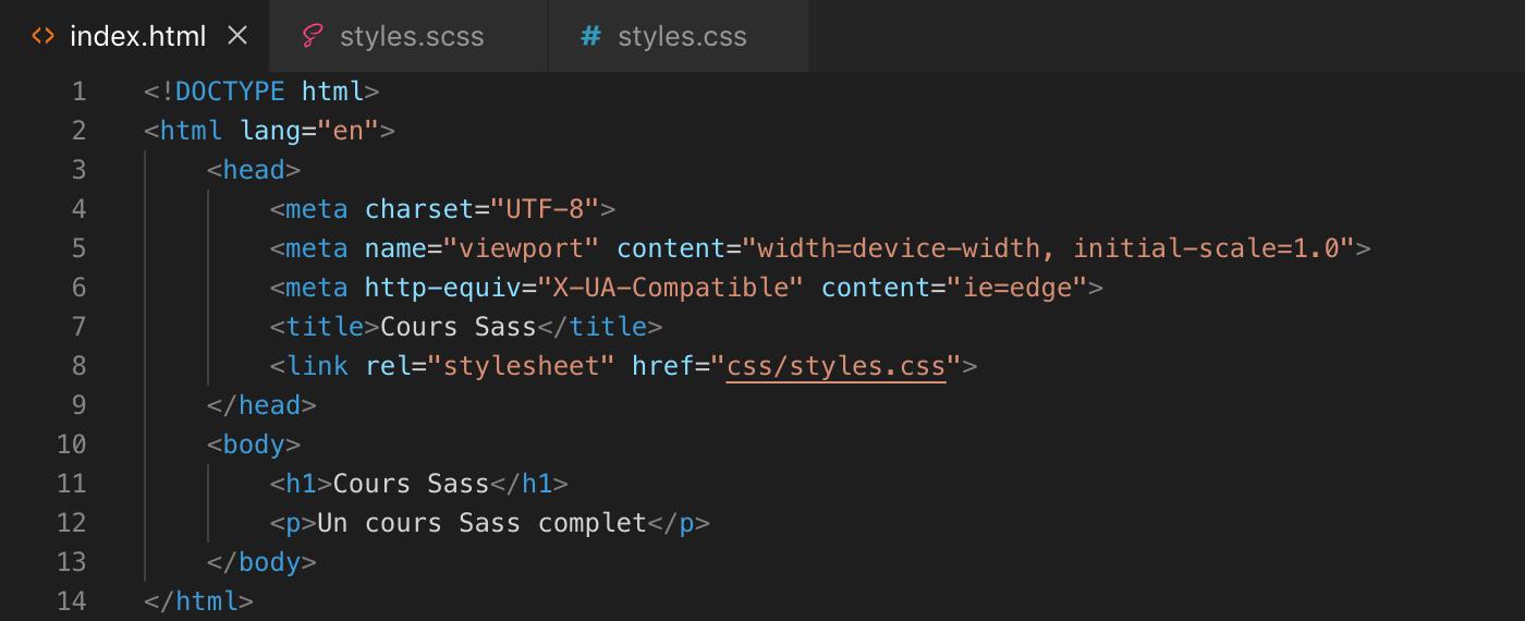 Exemple d'utilisation de la fonction random() de Sass - html