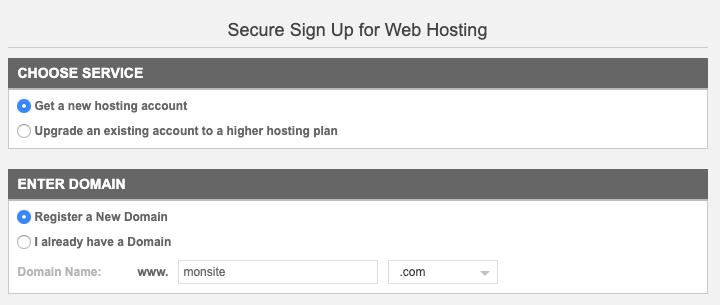 Choix du nom de domaine et de l'extension pour un site web
