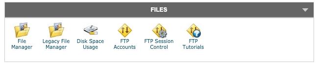 Gestion et transfert de fichiers via le cpanel