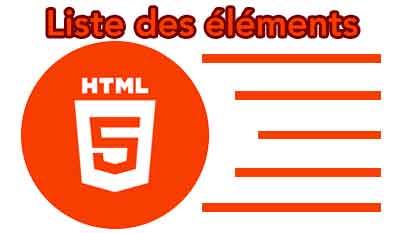 Référence des éléments HTML 5.3