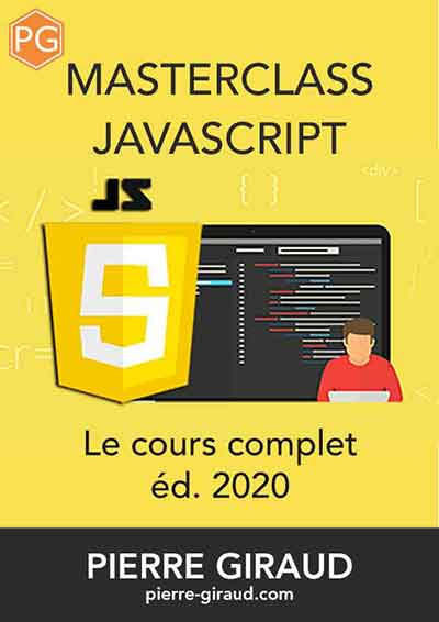 Couverture du livre JavaScript de Pierre Giraud