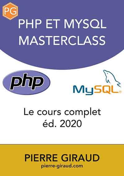 Couverture du livre PHP et MySQL de Pierre Giraud